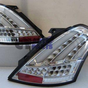 Clear Full LED Tail Lights for 11-15 Suzuki Swift FZ GA GL CLASSIC SPORTS -0