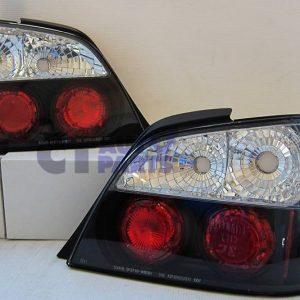 JDM Black Altezza Tail lights for 00-02 SUBARU IMPREZA WRX STI EJ20-0