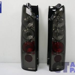 JDM Smoked Altezza Tail lights for 04-18 Toyota Hiace VAN -0