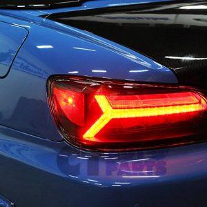 BuddyClub BLACK LED Taillight Tail Light for 99-03 HONDA S2000 AP1 -0