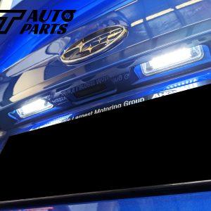 Xenon White 24 SMD LED License Plate Light for 14-18 SUBARU WRX STI V1 MY15-0