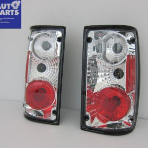 Crystal Clear Altezza Tail Lights for 1989-1997 TOYOTA HILUX Ute-0