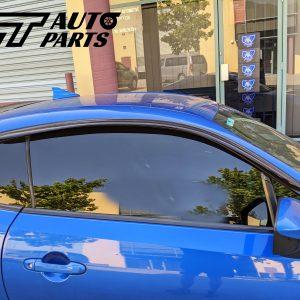 Window Visor Weather Shield Tape-On for 12-19 Toyota 86 GT86 GTS Subaru BRZ -0