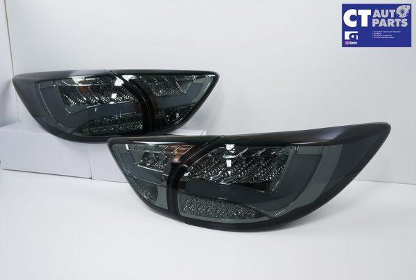 Smoked 3D LED Stripe Bar LED Blinker Tail lights for 12-15 Mazda CX-5 KE-0