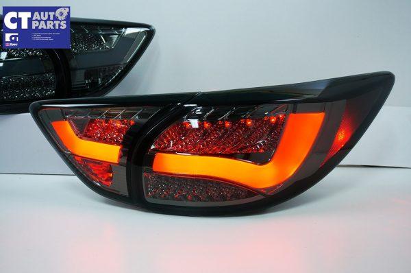Smoked 3D LED Stripe Bar LED Blinker Tail lights for 12-15 Mazda CX-5 KE-7843