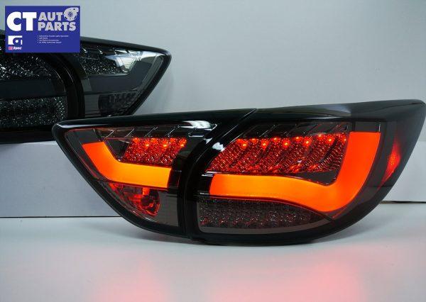 Smoked 3D LED Stripe Bar LED Blinker Tail lights for 12-15 Mazda CX-5 KE-7844