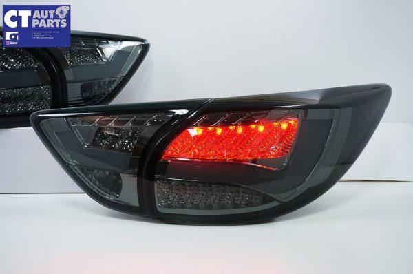 Smoked 3D LED Stripe Bar LED Blinker Tail lights for 12-15 Mazda CX-5 KE-7845