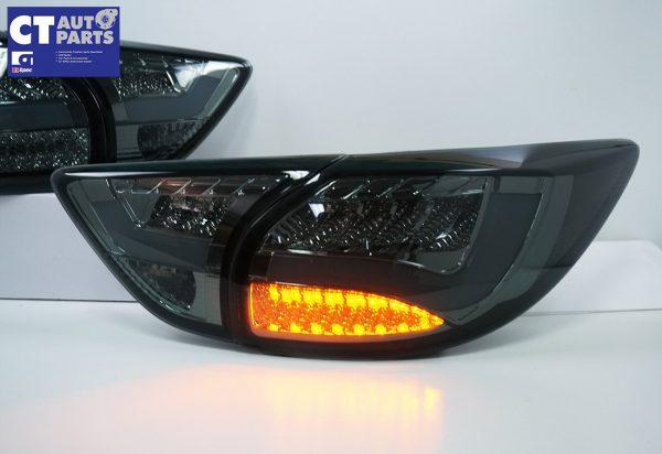 Smoked 3D LED Stripe Bar LED Blinker Tail lights for 12-15 Mazda CX-5 KE-7846