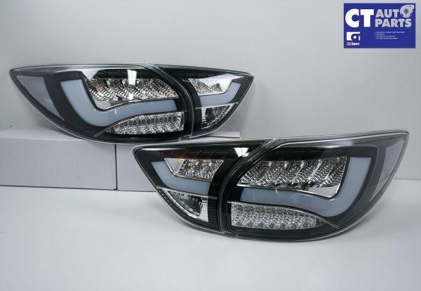 Black 3D LED Stripe Bar LED Blinker Tail lights for 12-15 Mazda CX-5 KE-7862