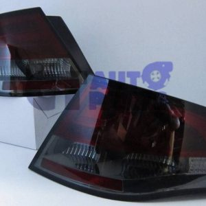 Smoke Red LED Tail Lights Ford Falcon FPV FG Sedan G6E Turbo XT XR6 XR8-0