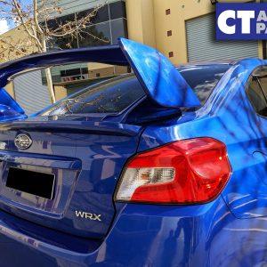 K7X World Rally Blue STI Style Trunk Spoiler for 14-19 Subaru WRX STI Premium-0