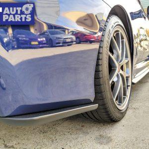 CS Style Rear Bumper Lip Rear pof for 14-19 SUBARU WRX STI VA Charge Speed Matte Black-0