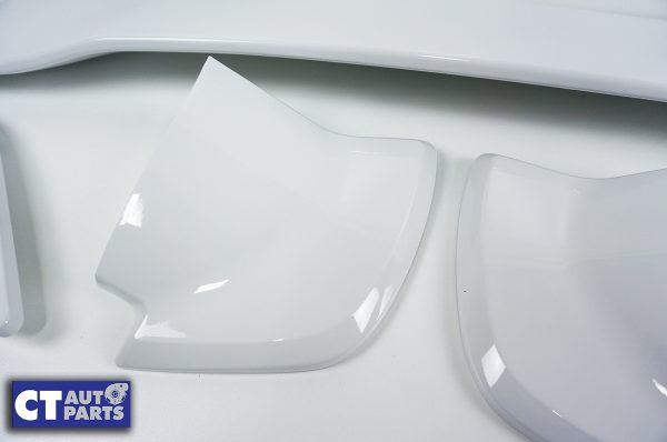 5PCS STI Style Trunk Spoiler 14-18 SUBARU WRX STI V1 V2 WHITE-8981