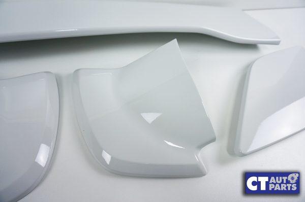 5PCS STI Style Trunk Spoiler 14-18 SUBARU WRX STI V1 V2 WHITE-8982