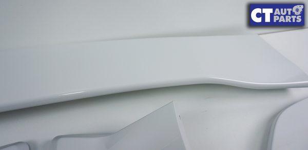 5PCS STI Style Trunk Spoiler 14-18 SUBARU WRX STI V1 V2 WHITE-8983