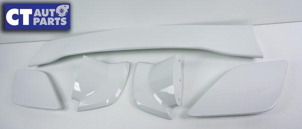 5PCS STI Style Trunk Spoiler 14-18 SUBARU WRX STI V1 V2 WHITE-8985