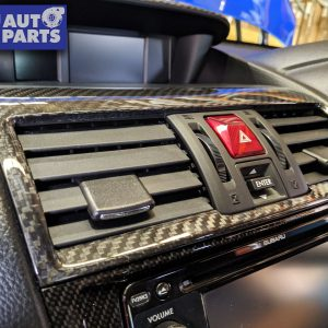 Dry Carbon Centre Air Vent Cover Trim for 14-19 Subaru WRX STI LEVORG -0
