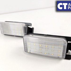 Xenon White 24 SMD LED License Plate Light for 08-17 Nissan Skyline GTR R35 VQ38-0