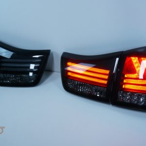 Smoked LED Sequential Indicators Tail lights for 04-09 Lexus RX330 RX350 RH400H-0