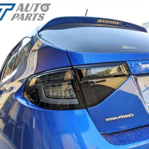 Black Edition 3D Dynamic Indicator LED Tail light for 08-13 Subaru Impreza WRX RS STI -0