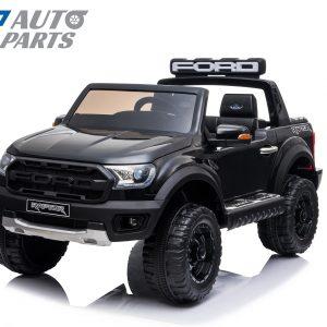 Licensed Ford Ranger Raptors Electric Kids Ride on Car Truck Children Toy Remote Black-0