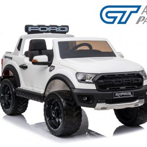 Licensed Ford Ranger Raptors Electric Kids Ride on Car Truck Children Toy Remote White -0