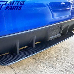 STI Style Carbon Rear Bumper Diffuser for 14-19 SUBARU WRX STI -0