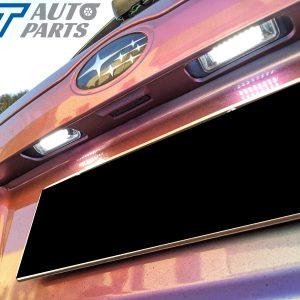 Xenon White 24 SMD LED License Plate Light for 08-13 SUBARU IMPREZA G3 WRX STI -0