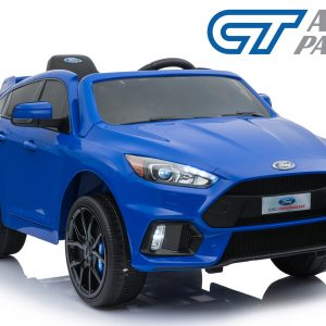 Licensed Ford Focus RS Kid Toy Rid on Car Remote Control Bluetooth Blue-0