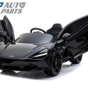 Licensed Mclaren 720S 12 Volt Painted Metallic Onyx Black Parent Remote Ride On CAR-0