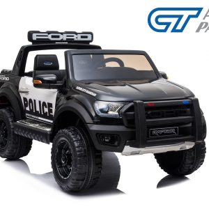 Ford Ranger POLICE VERSION Electric Kids Ride on Car Truck Children Toy Remote Black-0
