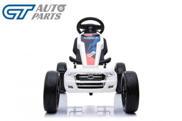 Ford Ranger Kids GO KART Racing Car Ride on Toy Car Children Bike White-12452