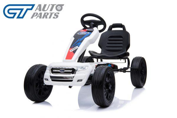 Ford Ranger Kids GO KART Racing Car Ride on Toy Car Children Bike White-12447