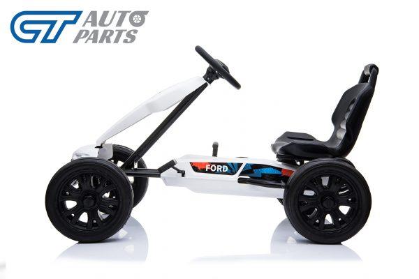 Ford Ranger Kids GO KART Racing Car Ride on Toy Car Children Bike White-12448