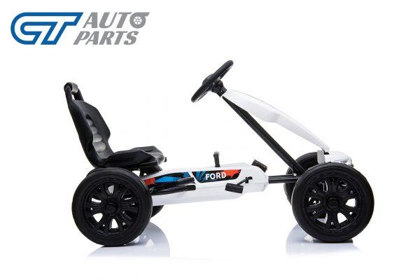 Ford Ranger Kids GO KART Racing Car Ride on Toy Car Children Bike White-12449