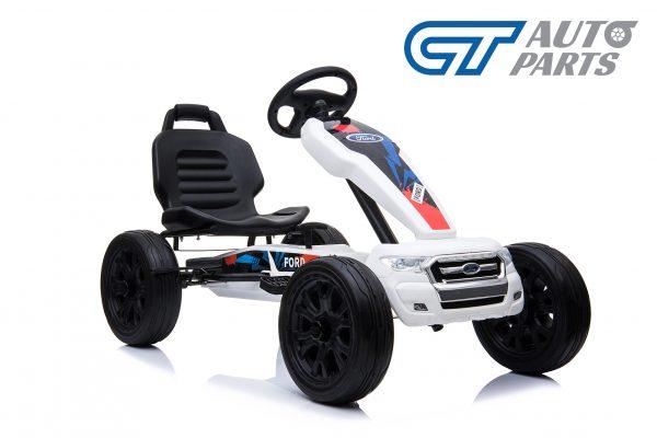 Ford Ranger Kids GO KART Racing Car Ride on Toy Car Children Bike White-12450