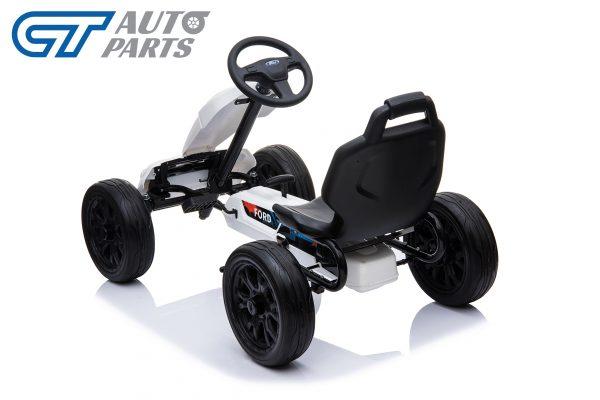 Ford Ranger Kids GO KART Racing Car Ride on Toy Car Children Bike White-12453