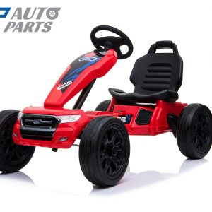 Ford Ranger Kids GO KART Racing Car Ride on Toy Car Children Bike Red-0