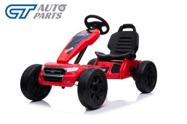Ford Ranger Kids GO KART Racing Car Ride on Toy Car Children Bike Red-0