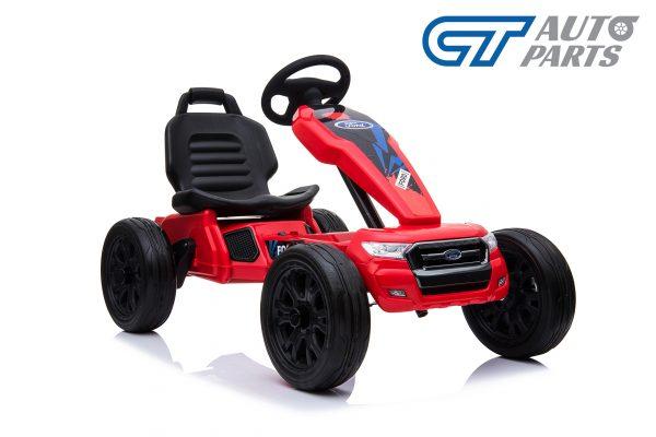 Ford Ranger Kids GO KART Racing Car Ride on Toy Car Children Bike Red-12475