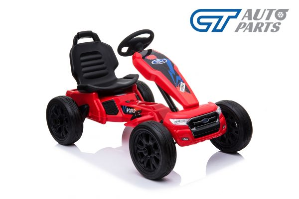 Ford Ranger Kids GO KART Racing Car Ride on Toy Car Children Bike Red-12477