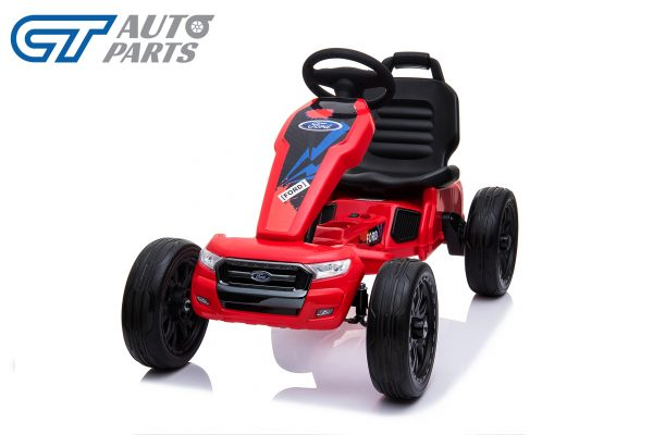 Ford Ranger Kids GO KART Racing Car Ride on Toy Car Children Bike Red-12479