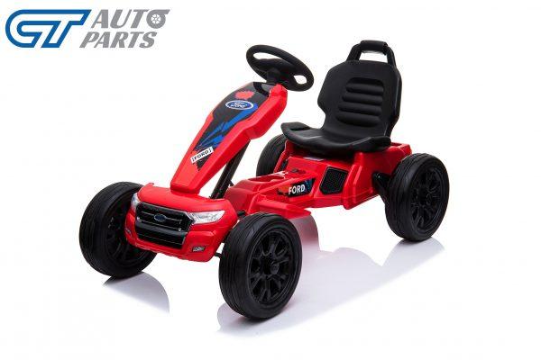 Ford Ranger Kids GO KART Racing Car Ride on Toy Car Children Bike Red-12478