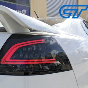 Smoked 3D LED Sequential Indicator Tail Lights for 06-13 Holden Commodore VE HSV Omega SV6 -0