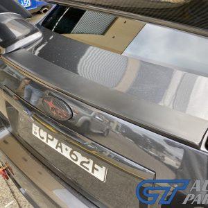 ABS Rear Trunk COVER Plate for MY08-14 Subaru Impreza WRX G3 Sedan (UNPAINTED)-0