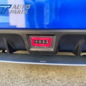 Black RED Bar (3in1) V2 F1 Rear Brake/Fog Light for 15-20 Subaru WRX / STI-0