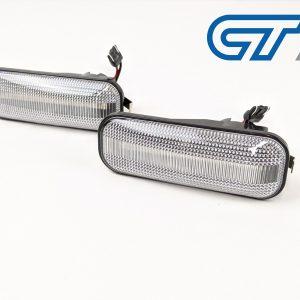 Clear LED side indicators side marker fender lights for 96-01 HONDA CIVIC EK EJ-0