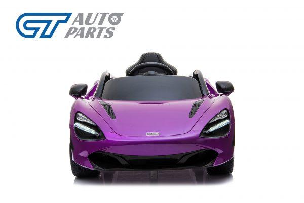 Licensed Mclaren 720S 12 Volt Painted Lantana Purple Parent Remote Ride On CAR-14256