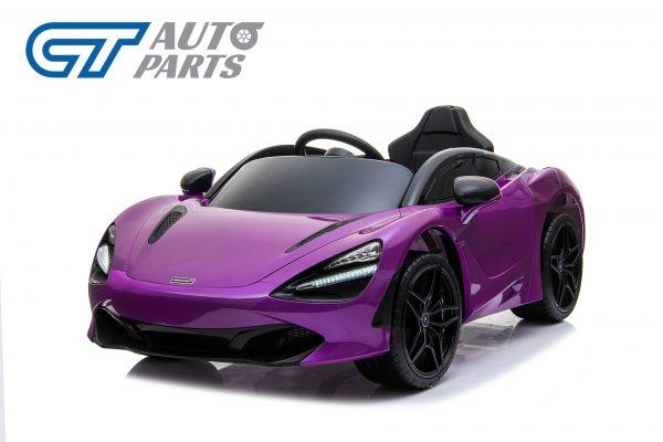 Licensed Mclaren 720S 12 Volt Painted Lantana Purple Parent Remote Ride On CAR-14259