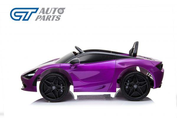 Licensed Mclaren 720S 12 Volt Painted Lantana Purple Parent Remote Ride On CAR-14255